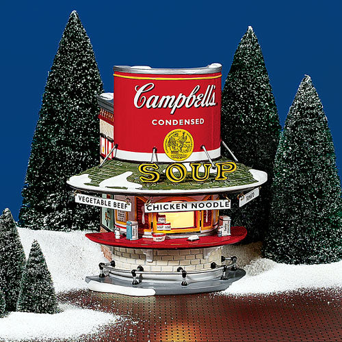 Campbell's Soup Counter