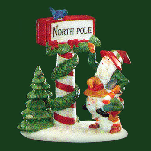 Trimming The North Pole