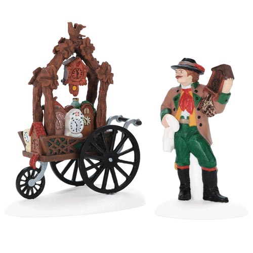 Cuckoo Clock Vendor & Cart