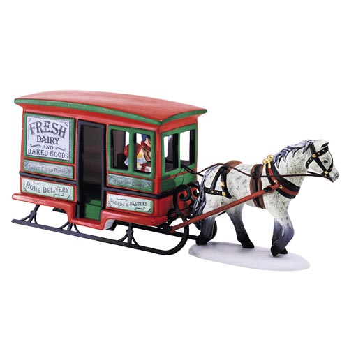Dairy Delivery Sleigh