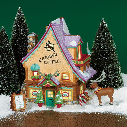 Department 56 Caribou Coffee Shop