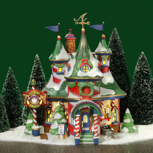 Alfie's Toy School For Elves -