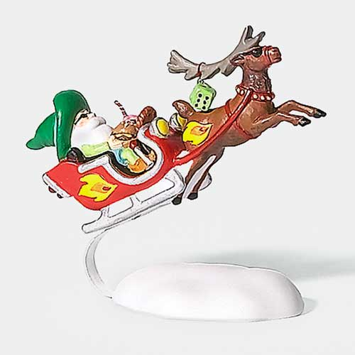 Fly Through Elf