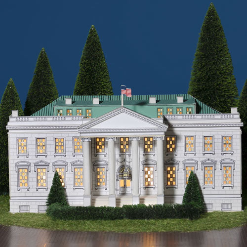 The White House Facade