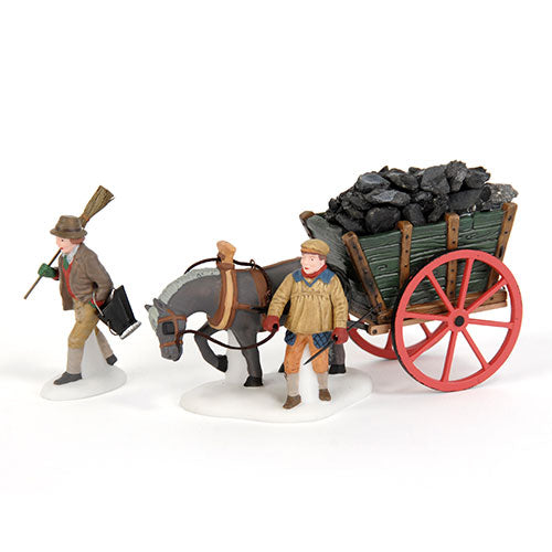 Delivering Coal For The Hearth
