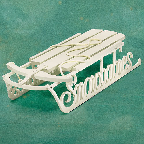Snowbabies Display Sled