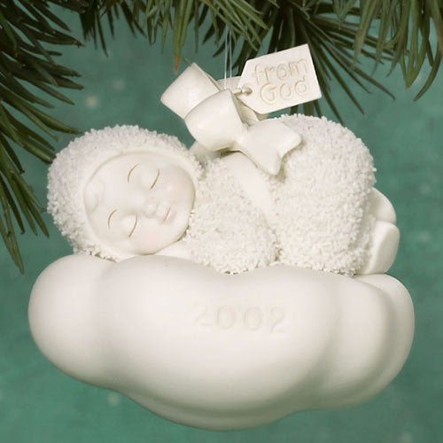 From God Dated 2002 Ornament