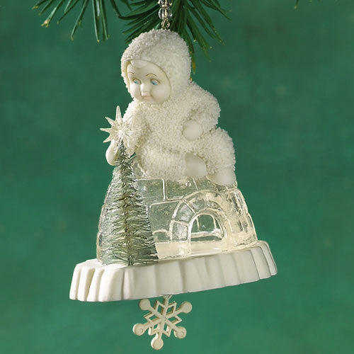 Eleven Icy Igloos Ornament