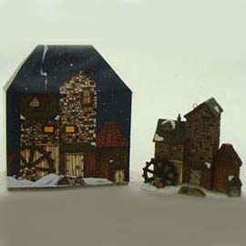 Dickens' Village Mill Ornament
