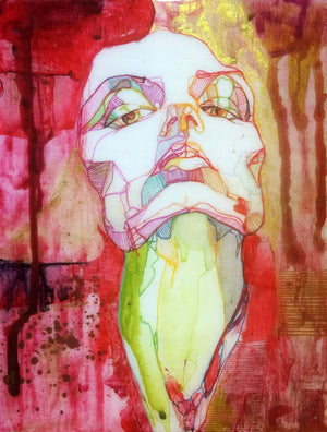 "Karmen Kraft Original Artwork Original Artwork ""Roja I"""