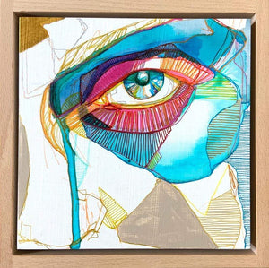 "Karmen Kraft Original Artwork Original Artwork ""Transparent IV"""