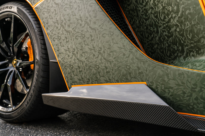 1016 Industries – Lamborghini Aventador S LP740 Side Skirts