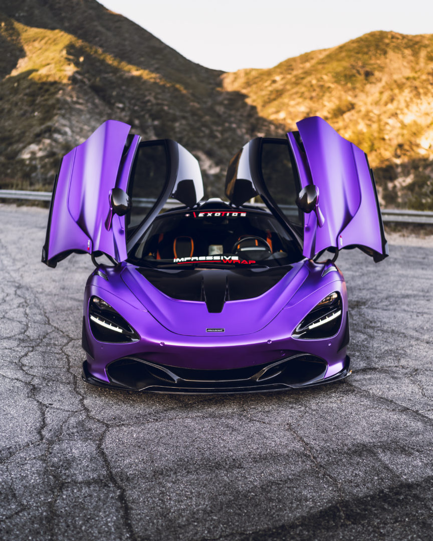 1016 Industries – McLaren 720s Race Hood