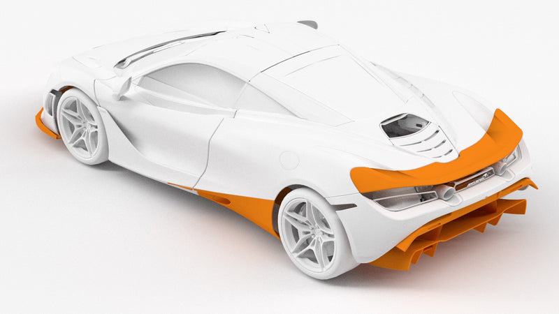 1016 Industries – McLaren 720s Rear Wing