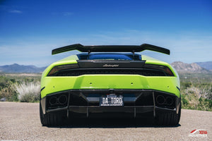 1016 Industries – Lamborghini Huracan LP610 Renato Tall V2 Rear Wing, Stands