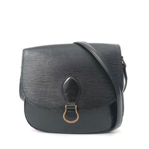 Louis Vuitton Saint Cloud Black Epi