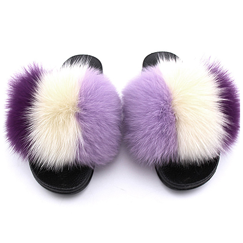 2f8451e885f Best Women s Fluffy Sliders Furry Slippers and Fur Flip Flops