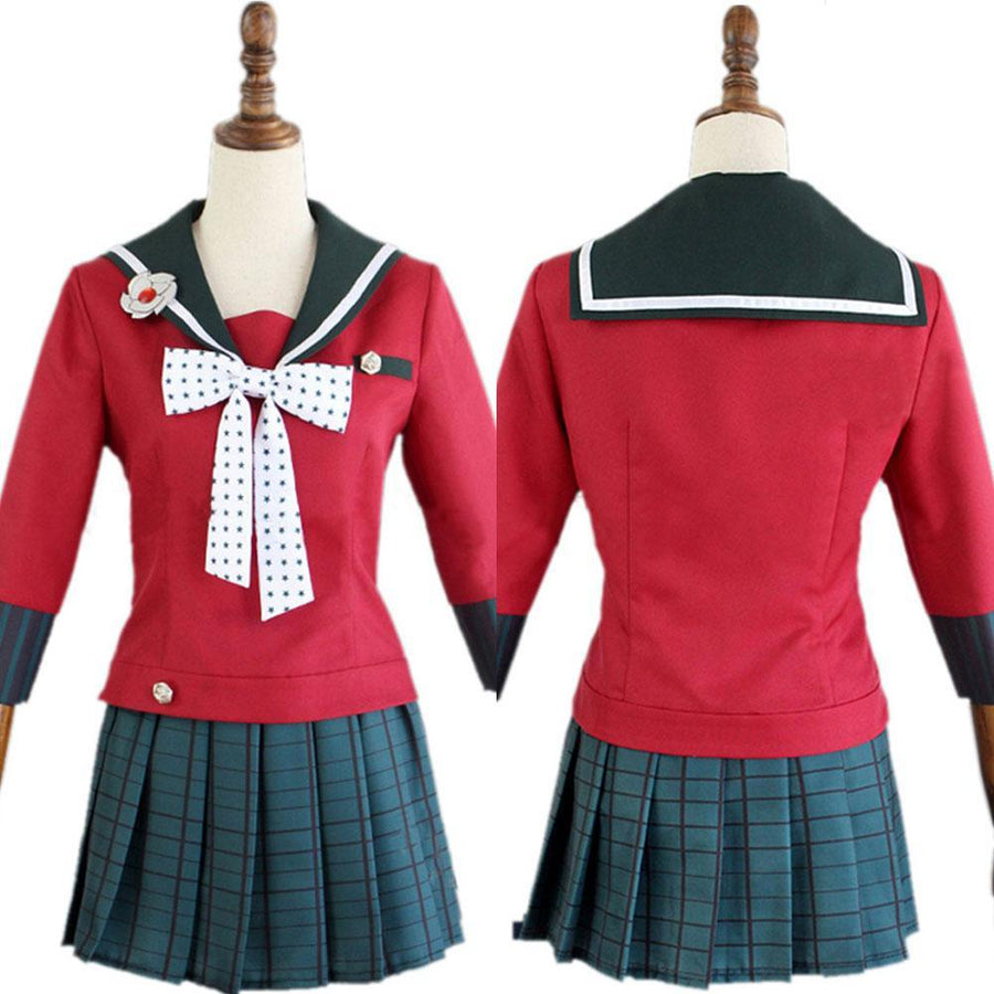 Danganronpa V3 Killing Harmony Harukawa Maki Cosplay Costume with Stockings