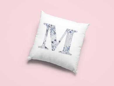 Liberty Of London, Adelajada Blue, personalised Cushion Cover
