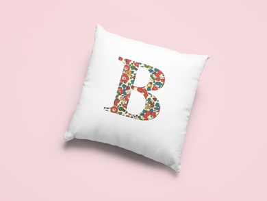 Liberty Of London, Betsy Anne Red, personalised Cushion Cover