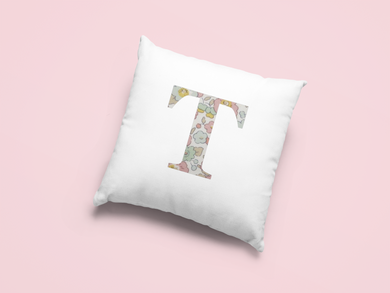 Liberty Of London, Betsy Light Pink, personalised Cushion Cover