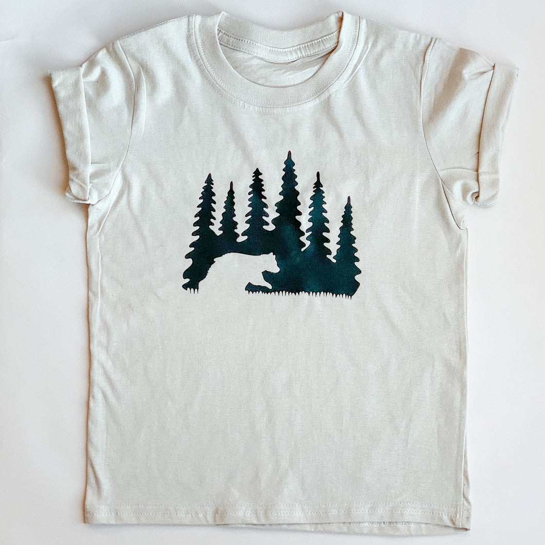Woodland Bear, T-Shirt infant