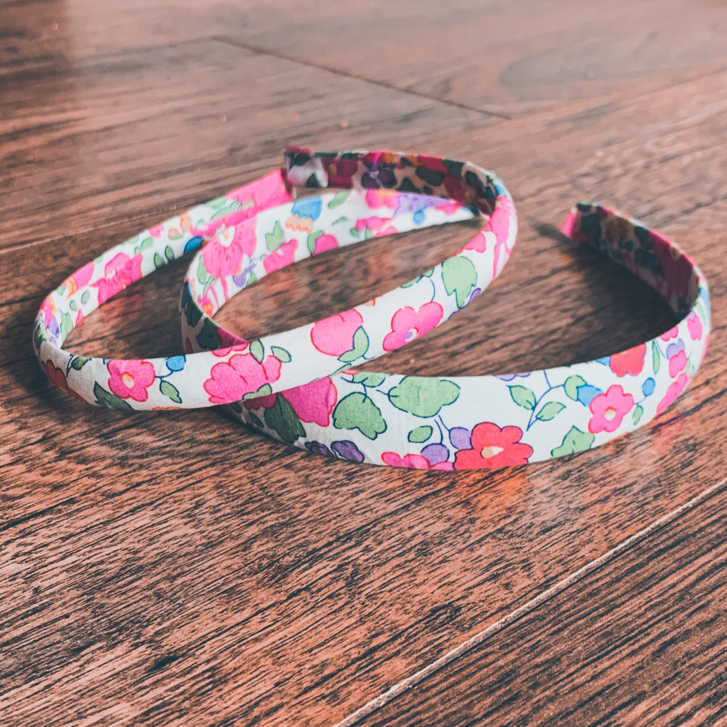 Liberty of London, Betsy dark pink , Alice Band