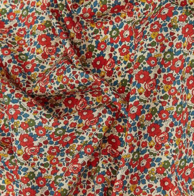 Liberty of London, Betsy anne red, Scrunchie