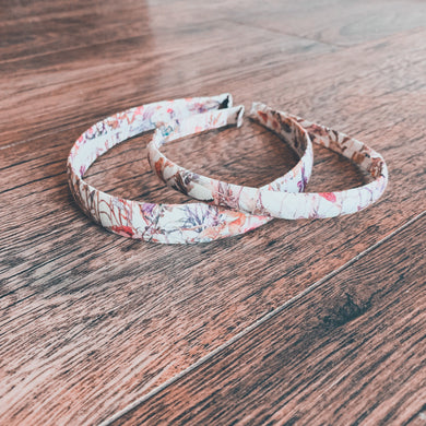 Liberty of London, Wild flowers pink , Alice Band