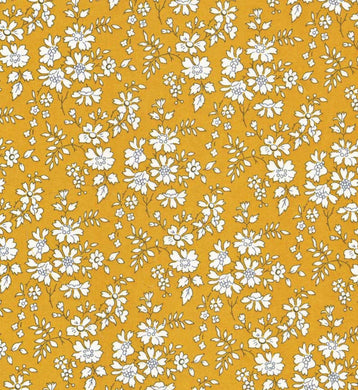 Liberty of London, Capel Mustard - personalised liberty appliqué - Infant