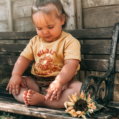 Wild as the flowers, T-Shirt infant