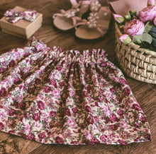 Load image into Gallery viewer, Arley Floral, Ruffle top skirt