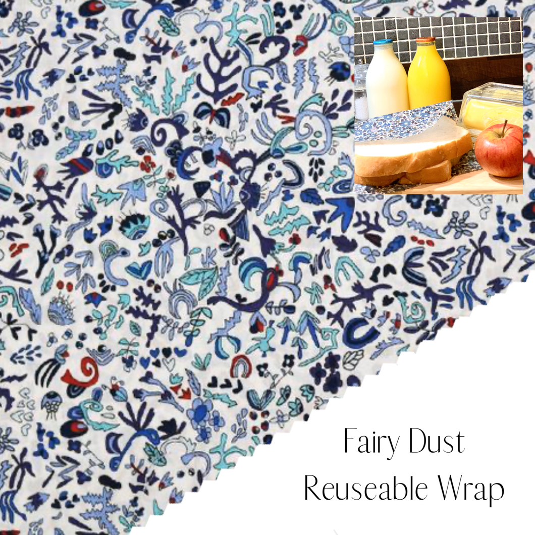 Liberty of London, Fairy Dust, bees wax reusable wrap