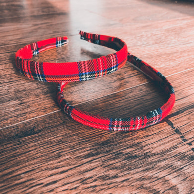 Tartan, Christmas , Alice Band