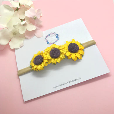Sunflower headband 🌱