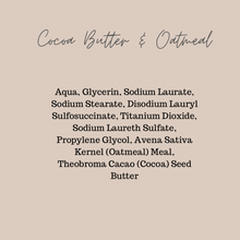 Load image into Gallery viewer, Cocoa Butter & Oatmeal, Handmade Soap