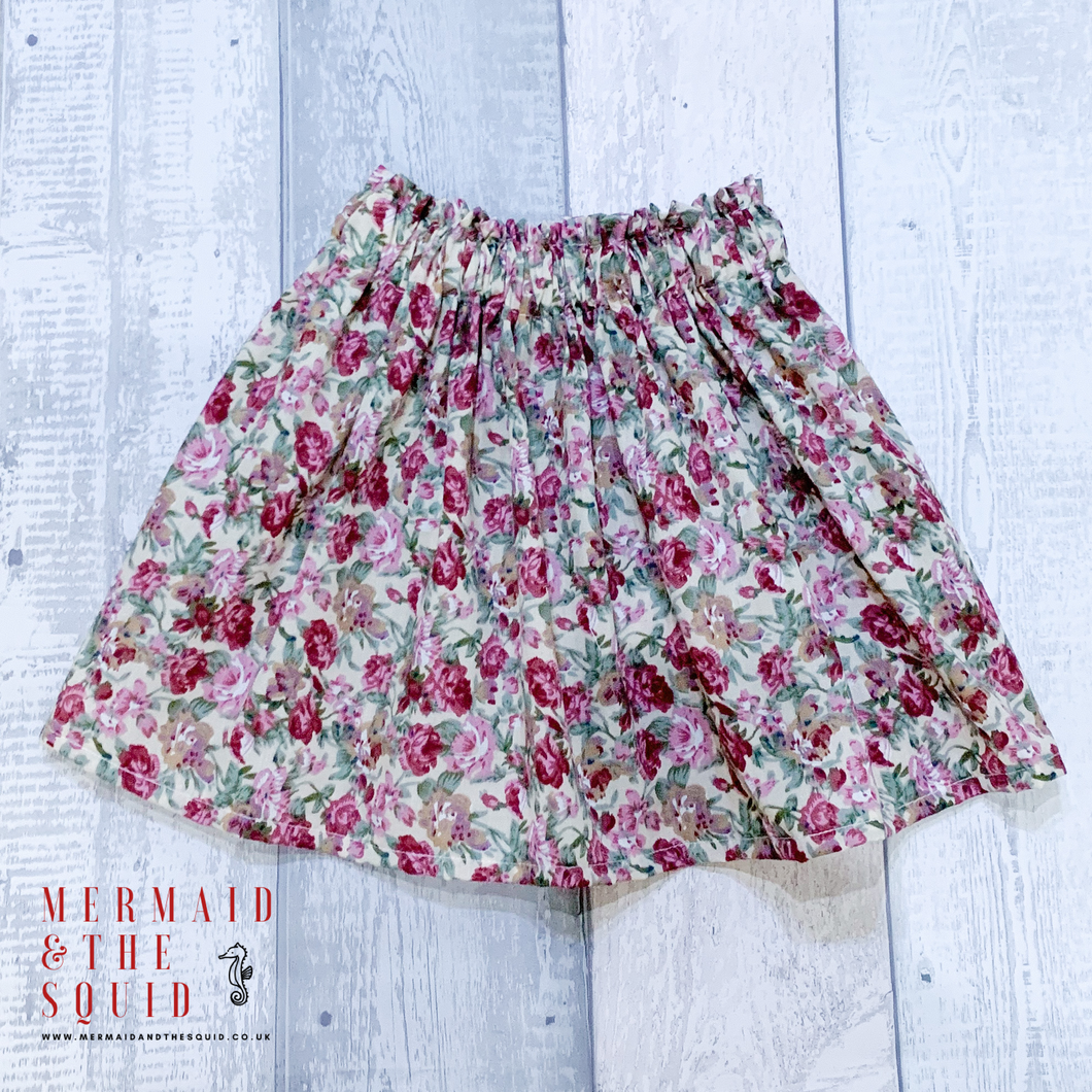 Arley Floral, Ruffle top skirt