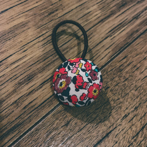 Liberty of London, button bobble, Betsy Anne Red