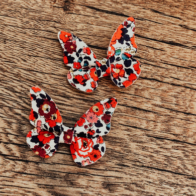 Liberty of London, Betsy Anne red, butterfly