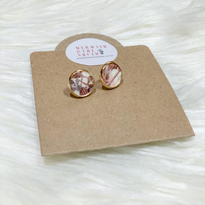 Liberty of London, wild flowers pink, Earrings