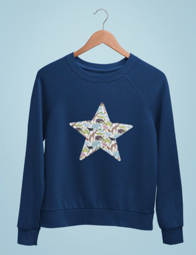 Liberty of London infant star sweatshirt