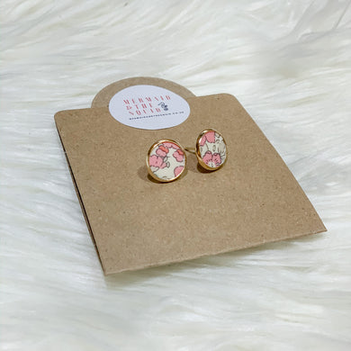 Liberty of London, Betsy Anne light pink, Earrings