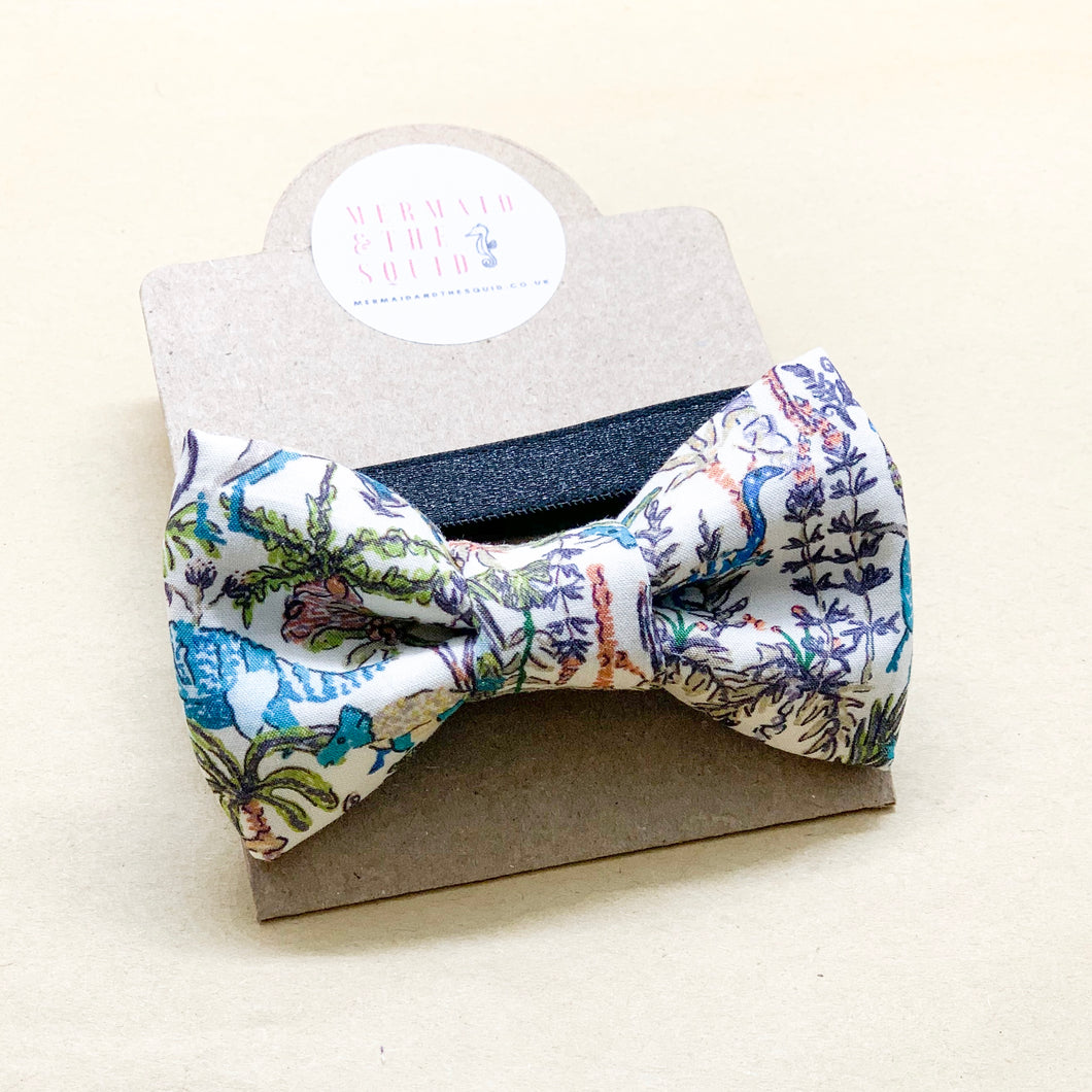 Liberty of London, Rumble and roar bow tie
