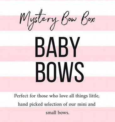 Mystery bow box  - baby bows