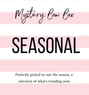 Mystery bow box - seasonal