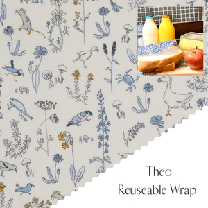 Liberty of London, Theo, bees wax reusable wrap