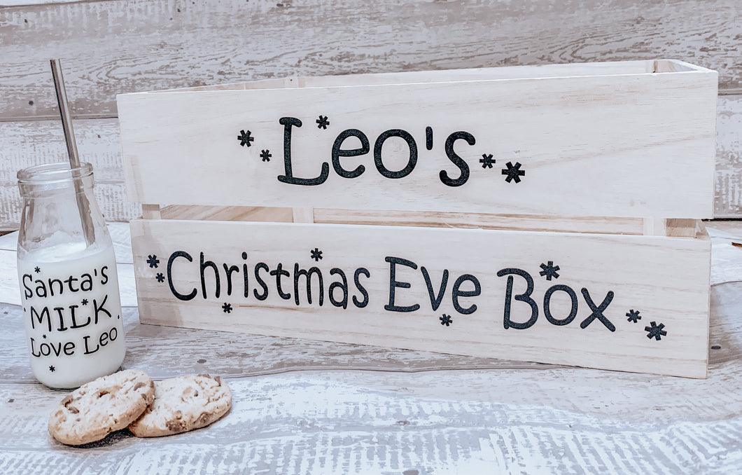 Christmas Eve box / Crate