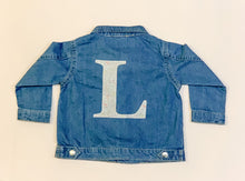 Load image into Gallery viewer, Liberty of London personalised denim jacket