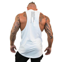 Load image into Gallery viewer, Brand Casual Fashion Clothing Bodybuilding Cotton Gym Tank Tops Men Sleeveless Undershirt Fitness Stringer Muscle Workout Vest