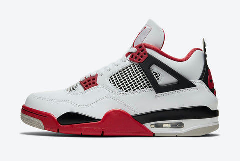 Jordan 4 Retro Fire Red